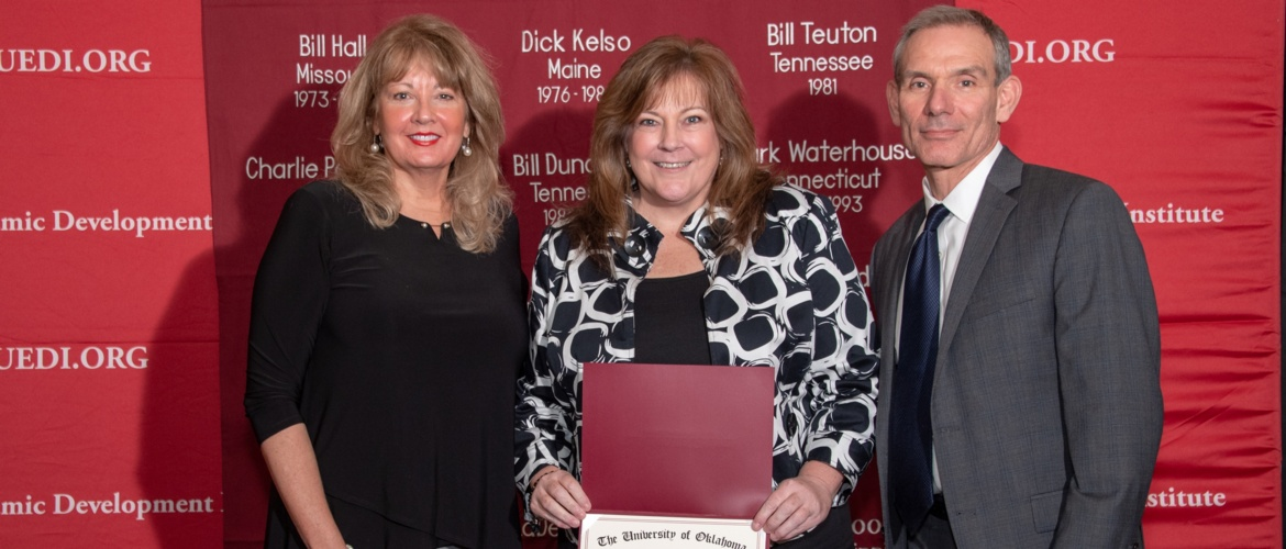 Workforce Center Director Angela Berch graduates OU EDI Picture