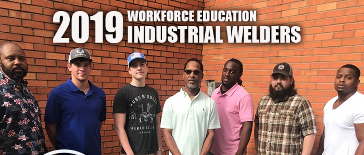 Welding Students Complete Training Picture
