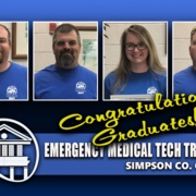 July23,2020-Simpson Co. EMT students complete training Picture